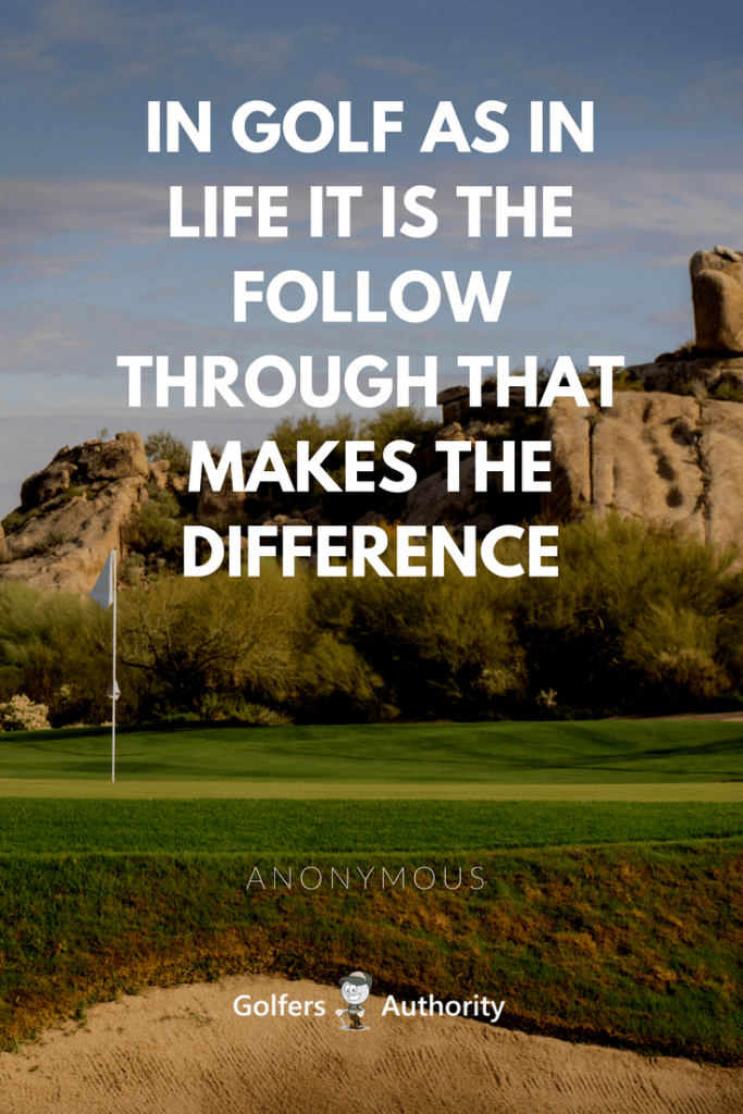 The 60 Best Golf Quotes Of All Time Golfers Authority Cool Golf Quotes About Life