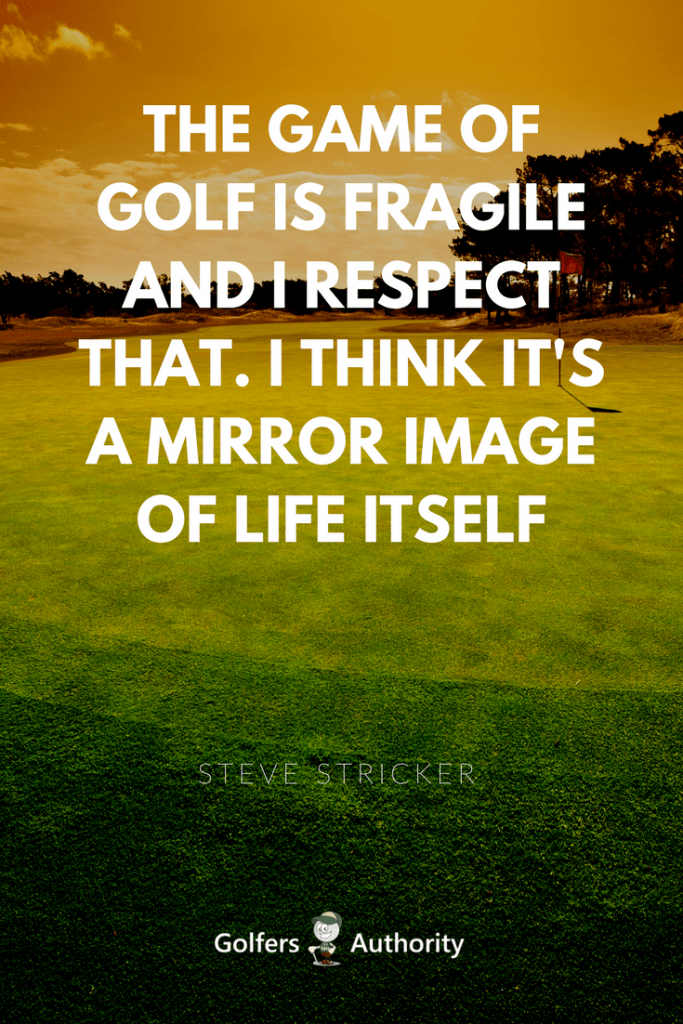 The 60 Best Golf Quotes Of All Time Golfers Authority Gorgeous Golf And Life Quotes