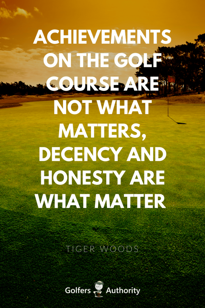 The 60 Best Golf Quotes Of All Time Golfers Authority Stunning Golf Quotes About Life