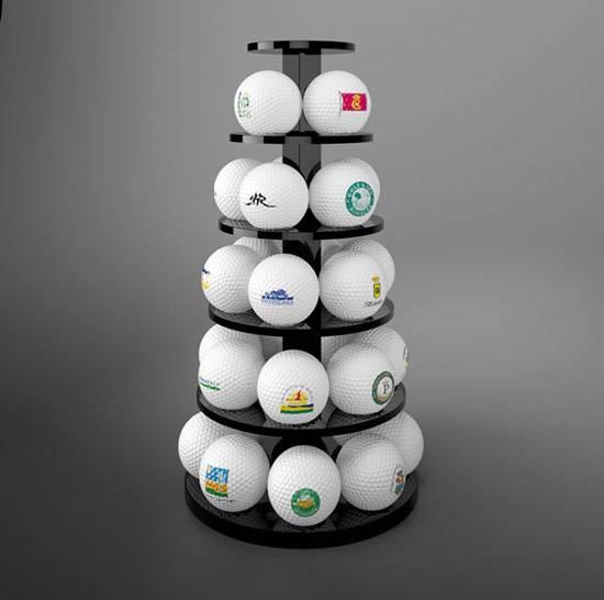 Golf Ball Display Stand