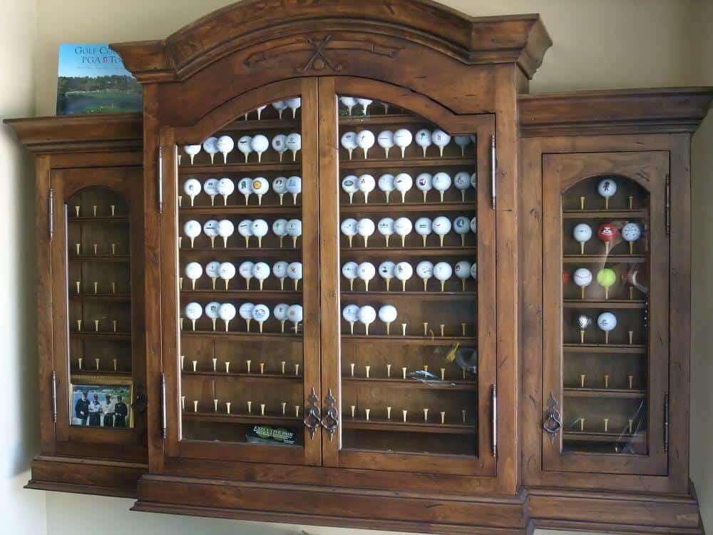 Golf Display Cabinets