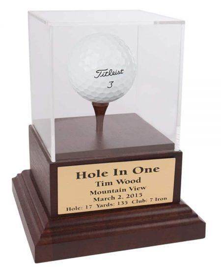 Single Golf Ball Display Box