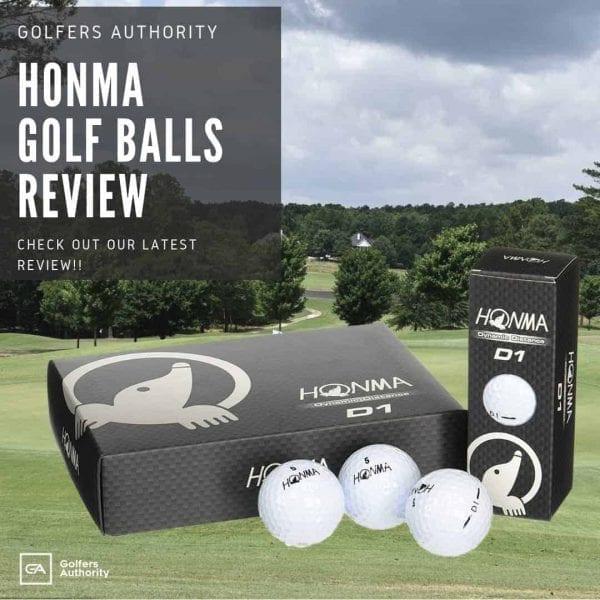 New Honma Golf Balls For Golfer
