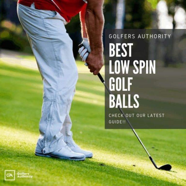 Best Low Spin Golf Balls 1