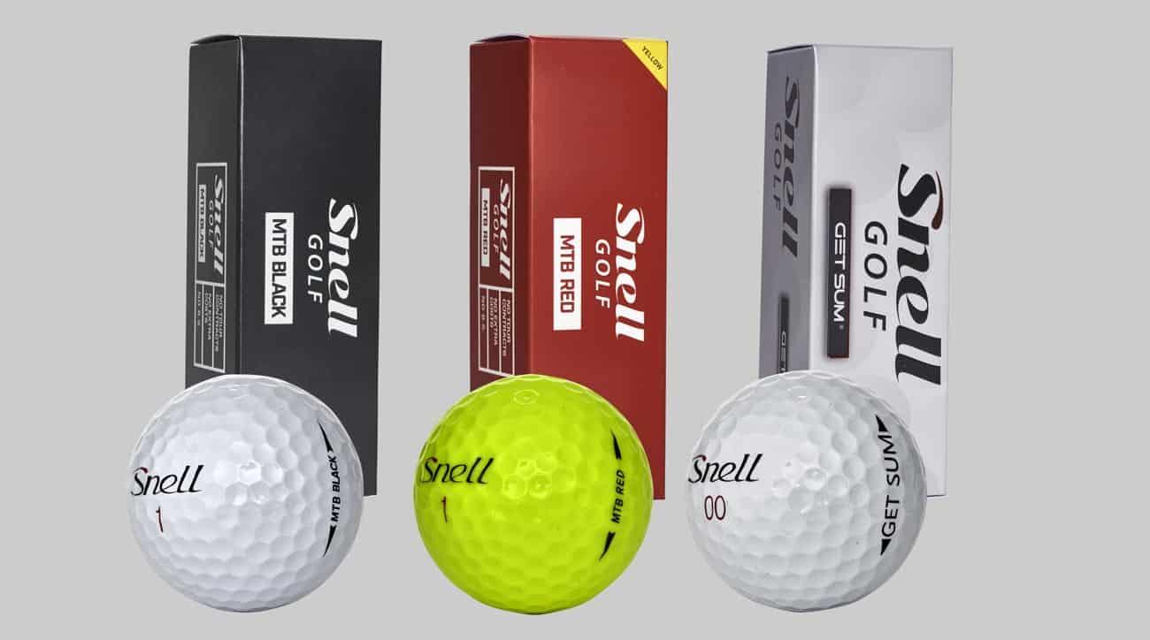 Snell Golf Balls 2