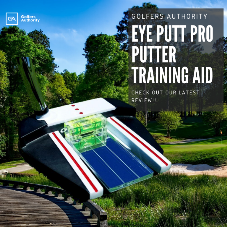 Eye Putt Pro Putter Training Aid