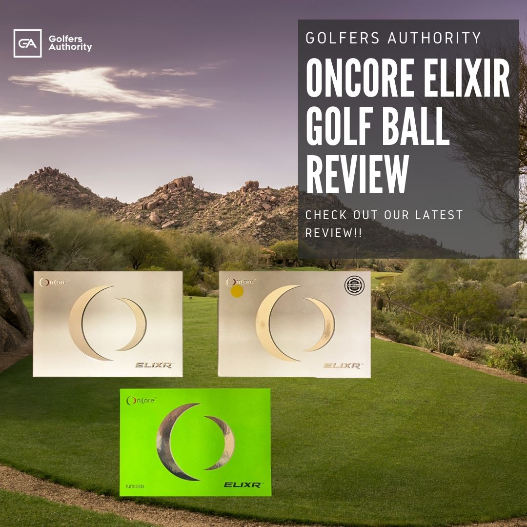 Oncore Elixir Golf Ball Review1