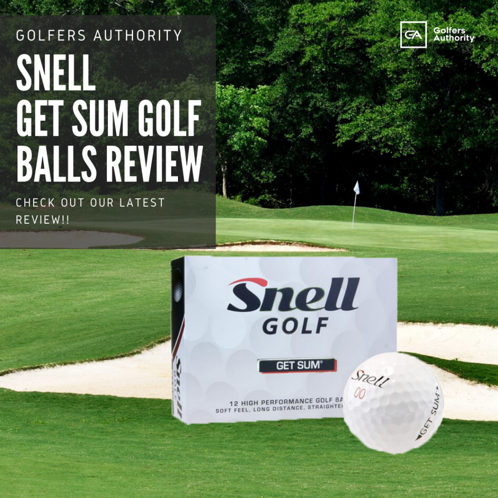 Snell Get Sum Golf Balls Review