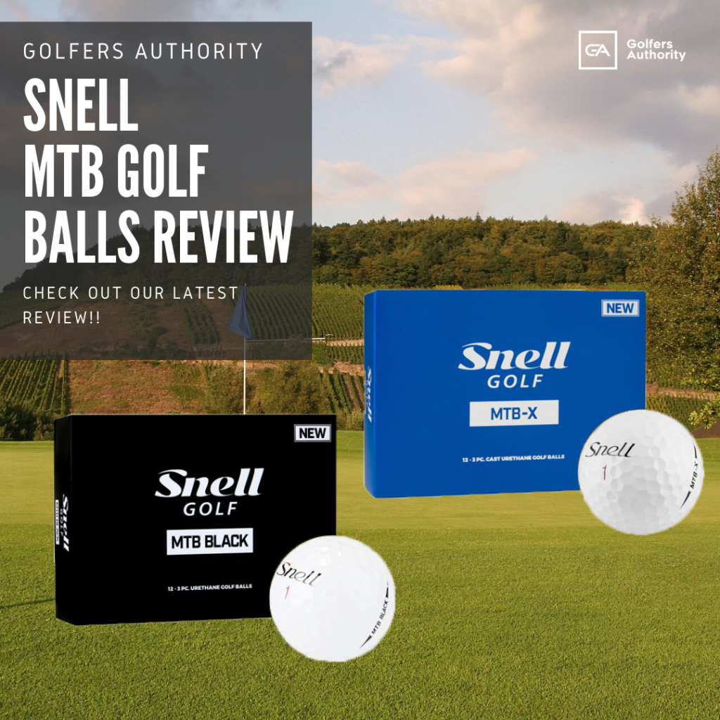 Snell Mtb Golf Balls Review