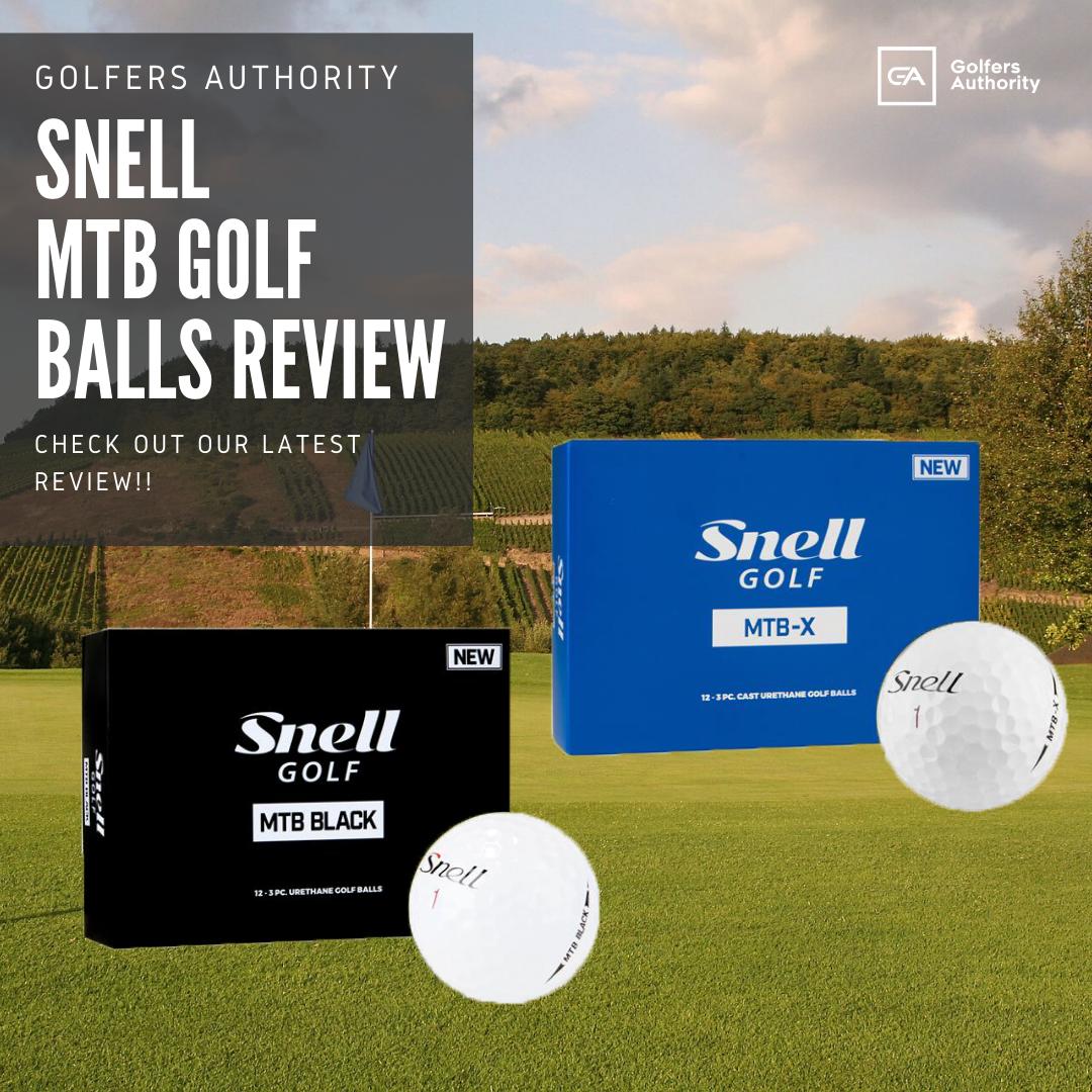 Snell Mtb Golf Balls Review