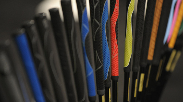 golf grips feature