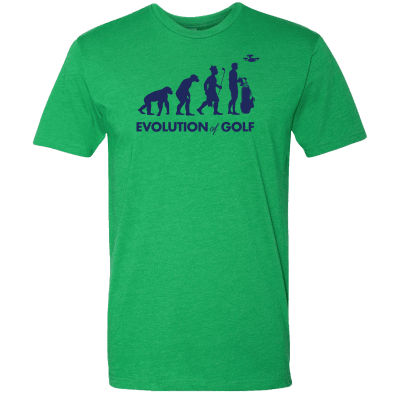 evolution of golf green