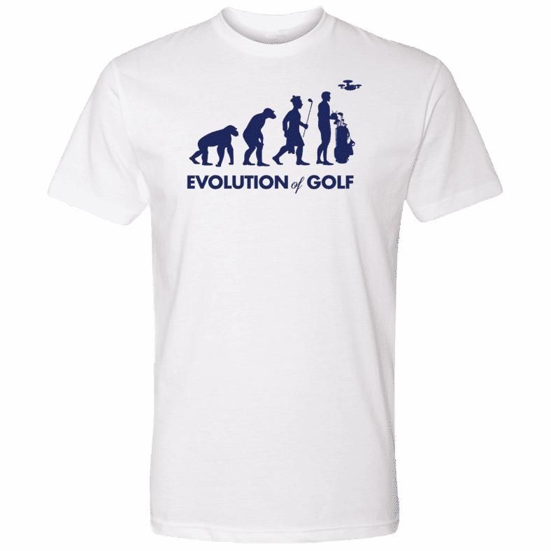 evolution of golf white