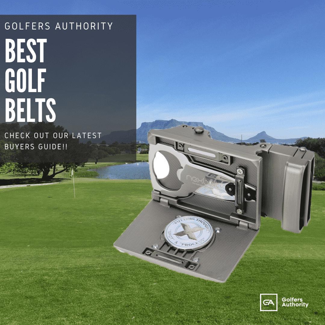 best golf belts