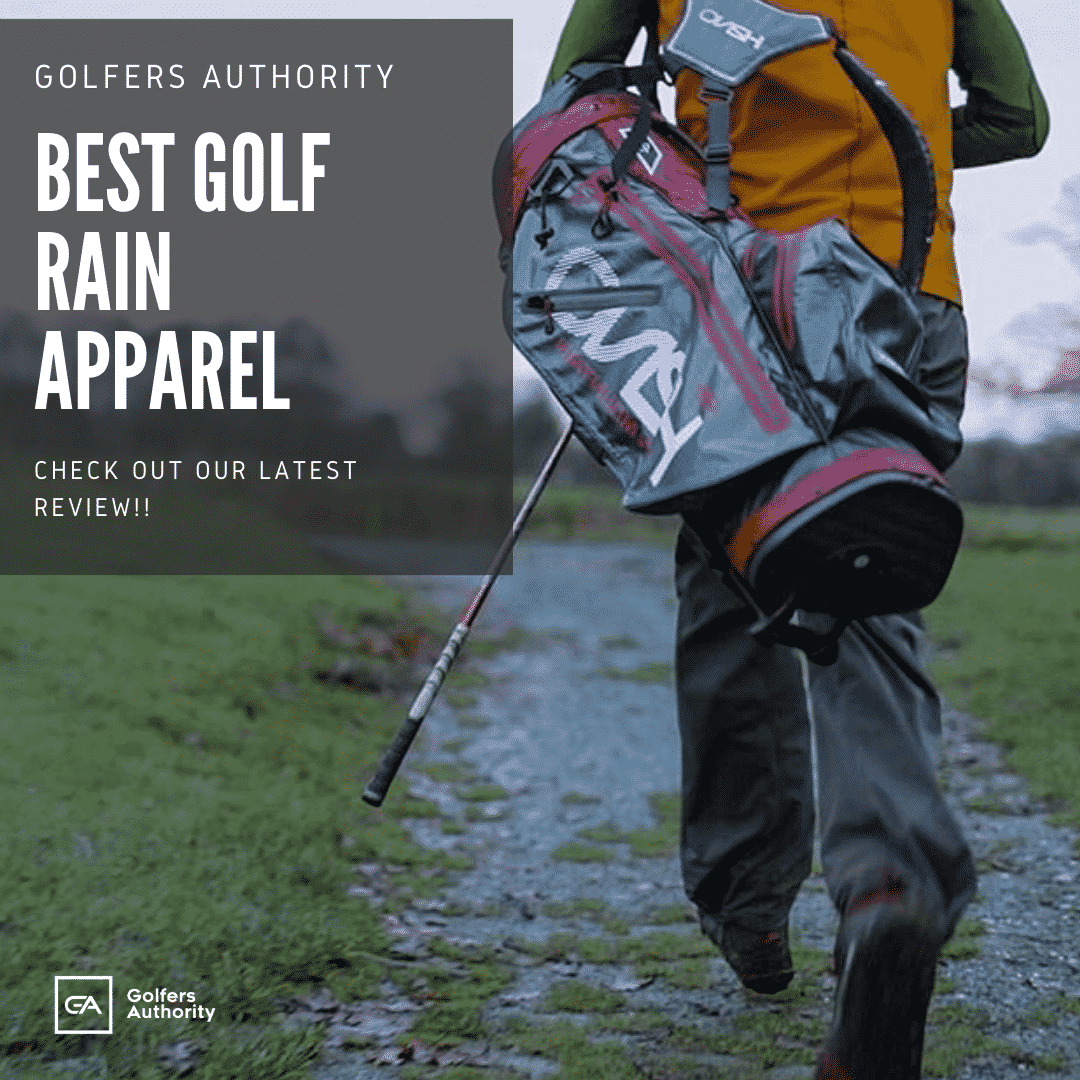 best golf rain apparel
