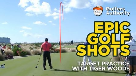 Epic Golf Shots Part 7 – Target Practice with Tiger