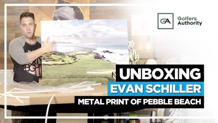 Unboxing World Renowned Golf Course Photographer Evan Schiller Photo of Bandon Dunes
