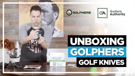 Unboxing Golpher Golf Knives