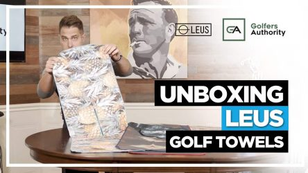 Unboxing Leus Golf Towels