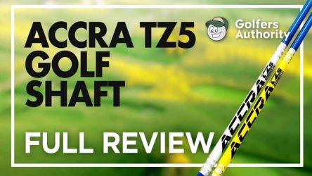 Accra TZ5 Golf Shaft Video