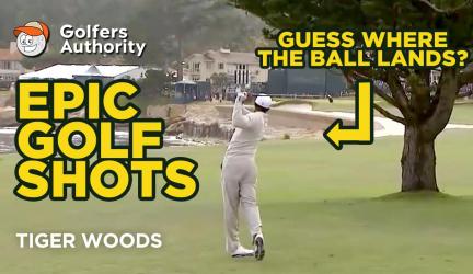 Epic Golf Shots Part 5 – Tiger Woods' Most Amazing Golf Moments