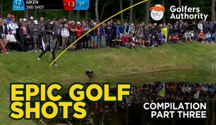 Epic Golf Shots Part 3 Video