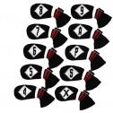 HugeLoong Knit Golf 10 Piece Iron Headcovers