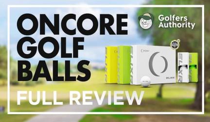 OnCore Elixir Golf Balls Video Review