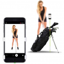 Selfie Golf Record Cell Phone Clip