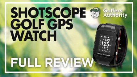 Shotscope V2 Smart GPS Golf Watch Video