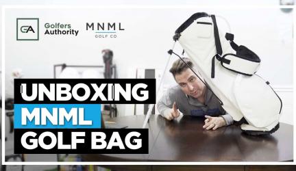 Unboxing MNML Golf Bag