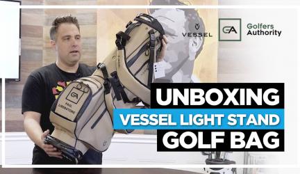 Unboxing Vessel Light Stand Golf Bag