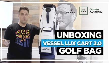 Unboxing Vessel Lux Cart 2.0 Golf Bag