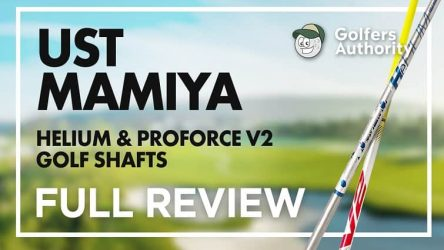 UST Mamiya ProForce V2 and Helium Video